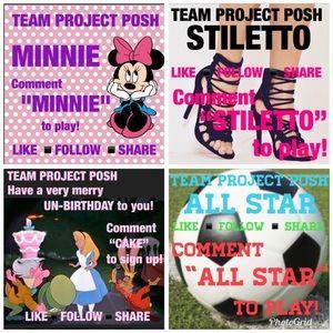 TEAM PROJECT POSH GAMES!!